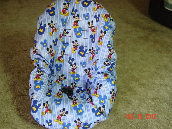 mickey mouse toddler car seat cover. Black Bedroom Furniture Sets. Home Design Ideas