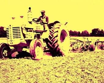 Tractor Series Number 4,  Photographers of Michigan, PoE team