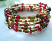 Fall Harvest Wraparound Bracelet