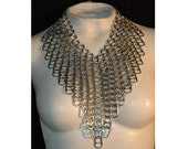 Super Sexy Chainmail V-Line Collar  Necklace