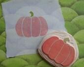Pumpkin Stamp Hand Carved