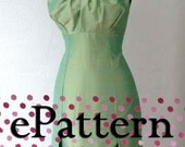 PATTERN and tutorial of Party Dress by PDF Size S to XL