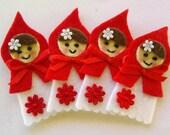 Felt Little Red Riding Hood