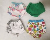 Spring Assortment,4 Panties Fit American Girl Doll