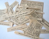 odd words strange phrases medical - pack of ephemera
