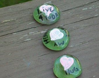 inspiration stones made to order hand painted cheap party favors cheap wedding favors