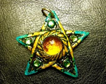 A Heart of Amber Pentagram