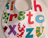 Black Friday Minky Dots Baby Bib Baby Shower Gift Lively Letters