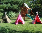 Children's Indoor/Outdoor Teepee - Custom Made