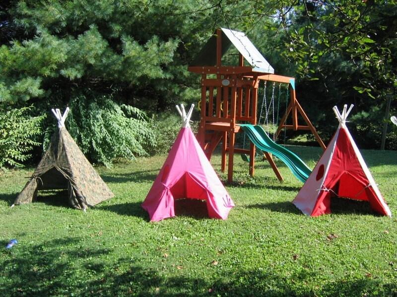 Children's Indoor/Outdoor Teepee Custom Made