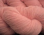 Lady's Slipper  - 100g, 300yd, wool yarn in fingering weight - 4 skeins available
