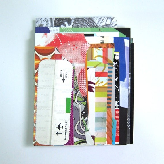 Miscellaneous Graphics - small design collage stack (Paper stock set of 60)