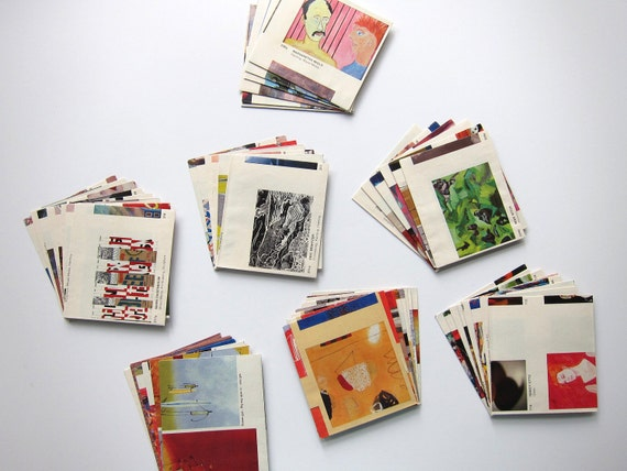 SALE - 53 Art Upcycled Packets