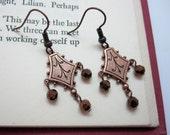 Copper Dangle Earrings (298)