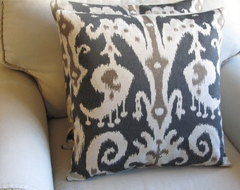 CASBAH MINK  Pillow Covers 18x18 Pair