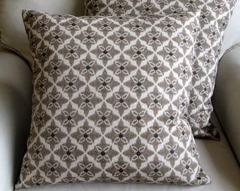 WALNUT 18x18 20x20 22x22 24x24 26x26 designer pillow cover