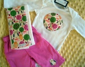 The Hoot heard around the World Gift Set- Onesie and Pant set-RESERVED FOR JAYVAL