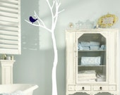 Tree Vinyl wall decal with a sweet little bird