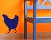 Chicken Vinyl Wall Decal
