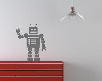 Robot Vinyl Wall Decal