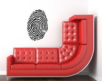 Fingerprint Vinyl Wall Decal