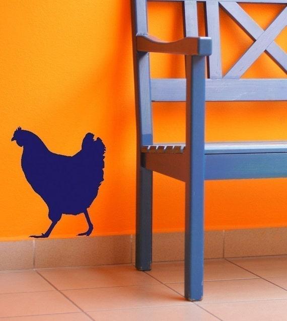 Chicken - Vinyl Wall Art Decal Sticker Graphic