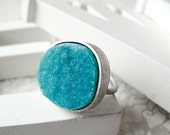 Hemimorphite - Candy Ring