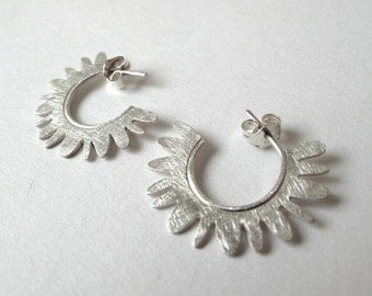 Small Lichen Earrings