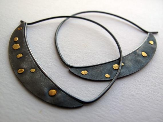 Moon earrings BZ