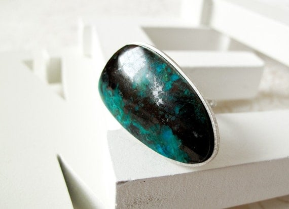 SALE Chrysocolla Ring