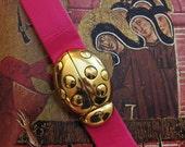 Pink Lady-Lady Bug Vintage Belt