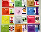 calendar REFILL - 2012 - 4x6