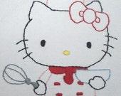hello kitty chef apron