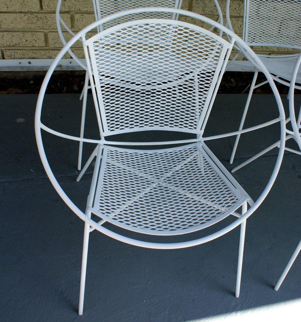 Pair of Salterini Hoop Mid Century Patio Chair set of 2