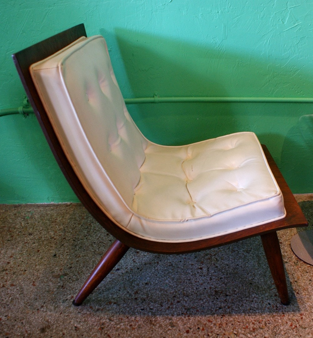 Mid Century Modern Scoop Chair By Carter Bros Furniture