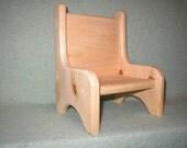 Single Doll Chair