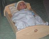 "18"" Doll Cradle - basic"