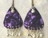 Purple Bella Earrings