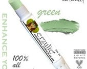 Natural  Mineral Makeup Corrector Stick  in Green From   Non-comedogenic  Acne Safe and Gluten Free Makeup