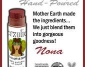 Organic and Natural Mineral Lipstick RX Color and Shine™ in  NONA  Non Toxic Cruelty Free Lipstick