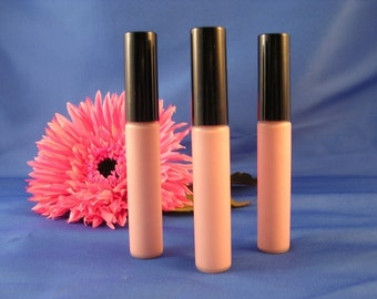 Natural Organic Mineral Lip Gloss in AURA Pale Pink Lip Gloss  Goddess Glaze™ Cruelty Free Makeup  Non Toxic Lip Gloss