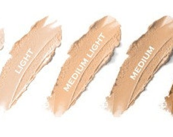 Organic Concealer Stick   Non-Comedogenic Mineral Cream Concealer Acne Safe  Your Choice from Five Shades