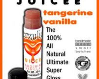 Tangerine Vanilla and  Sugar Kisses  Juicee Tube Tinted  Sheer Lip Glosses  Super High Shine  And  Nourishing
