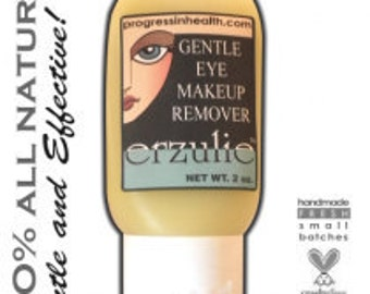 Organic Gentle Eye Makeup Remover   Easily removes Waterproof Makeup   Vegan Eye Makeup Remover