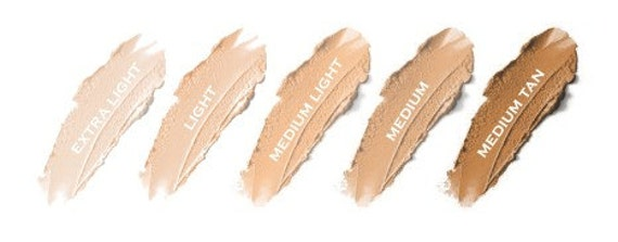 Natural Mineral Cream Concealer Stick   Non-Comedogenic Mineral Makeup Acne Safe  Your Choice from Five Shades