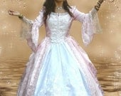 Marie Antoinette Brocade Custom Gown Your Size and Color