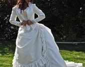 Victorian Reproduction Wedding Set 3 Pieces Custom Color and Size
