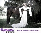 Victorian Velvet and Lace Medieval Romance Fantasy Gown Custom
