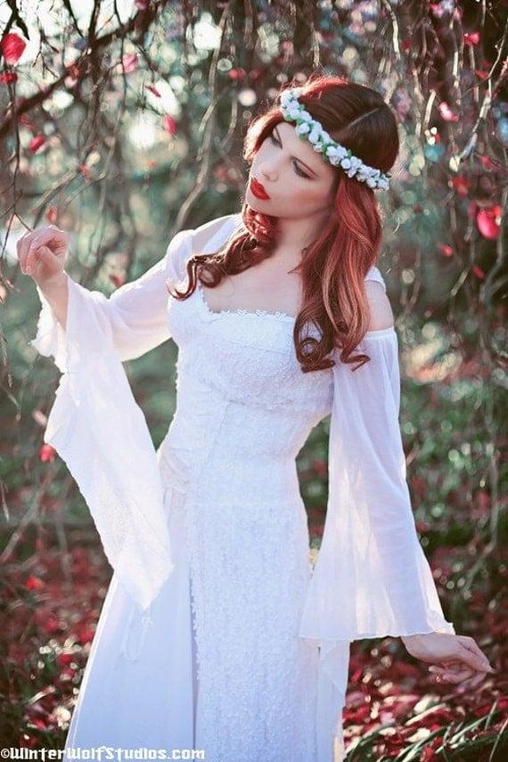 items similar to fairy medieval fantasy shorter wedding