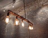 Vintage Inspired Industrial Hanging Light